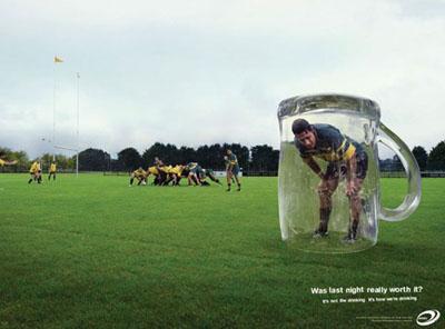 Креативная социальная реклама против алкоголизма закодироваться от алкоголизма в ессентуках